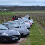 Rallye Porsche au château d'Eternes