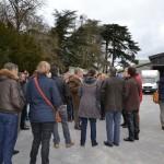 Visite de la propriété du Château d'Eternes avec Robert Marteling
